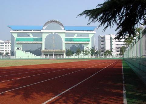 延安市宝塔区第三中学校园图片