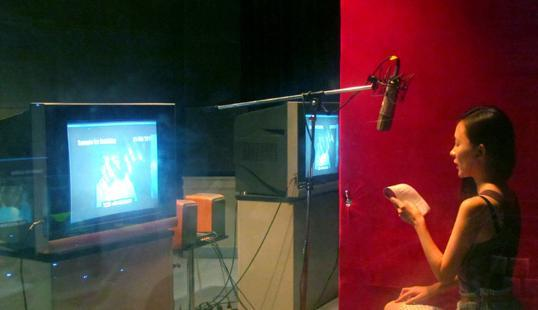 霍思燕完成《梦游》配音工作