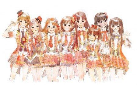 日本九美女组合动画版自配音
