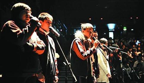 北京中学生角逐英语影视配音