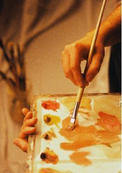 画家人物艺术宣传专题解说词