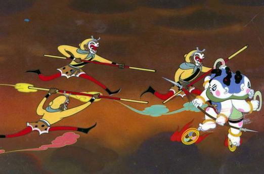 """【优优配(www.uupei.com)】最近很多电影都在集中的上映,近日有两部动画片登陆影院与全国观众见面。一部是3D版的《大闹天宫》,另一部则是《喜羊羊与灰太狼》第四部《开心闯龙年》。孙悟空pk喜羊羊,谁能胜出?国产动漫能否再出发?   50年后,上影集团用3D技术全新包装《大闹天宫3D》,想要""""激活经典"""",要想成为新时代华语动画电影的一根""""定海神针"""",配音演员很重要,这次来配音的可都是腕儿。鹅黄上衣虎皮短裙、大红裤子配黑靴,""""齐天大圣""""再跃大银幕,《大闹天宫3D》就要""""操练""""起来。"""