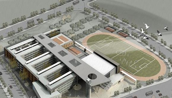 学校两层平面设计图